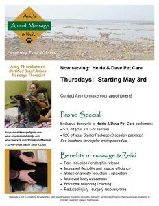 Amy's Animal Massage & Reiki