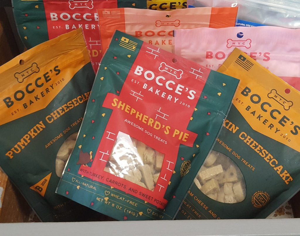 Bocce's Bakery at Heide's Pet Care